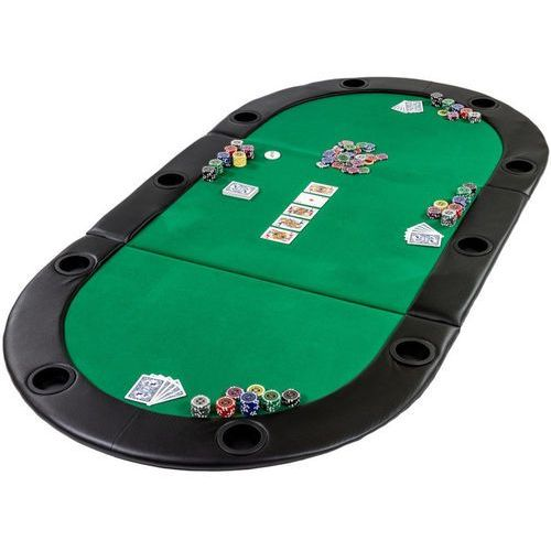 Mks Zielony stół blat pokerowy do pokera poker kasyno - zielony