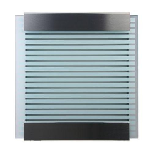 Skrzynka na listy Keilbach Glasnost White Stripes - produkt dostępny w All4home