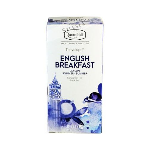 Czarna herbata Ronnefeldt Teavelope English Breakfast 25x1,5g