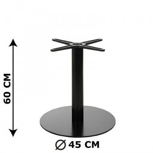 Podstawa stolika E47/60, o wysokości 60 cm (stolik kawowy)
