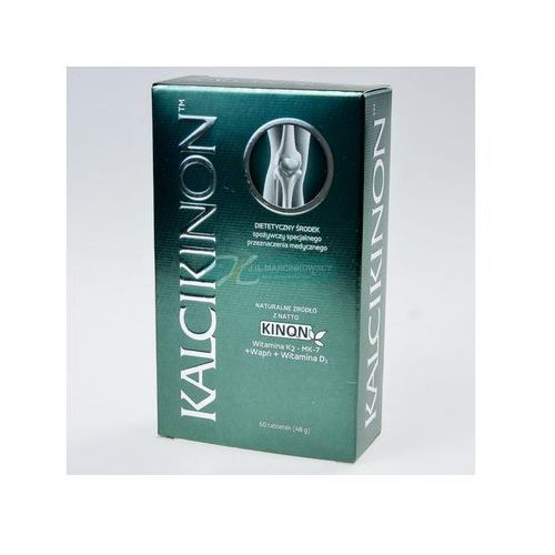 Kalcikinon, tabl., 60 szt, produkt z kategorii- Leki na osteoporozę