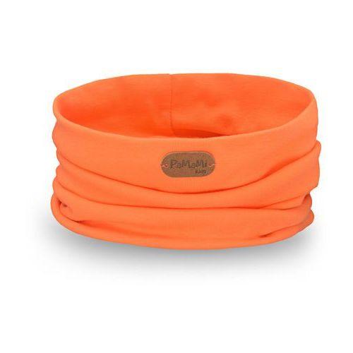 Wiosenny komin PaMaMi - Pomarańczowy - Pomarańczowy, kolor pomarańczowy