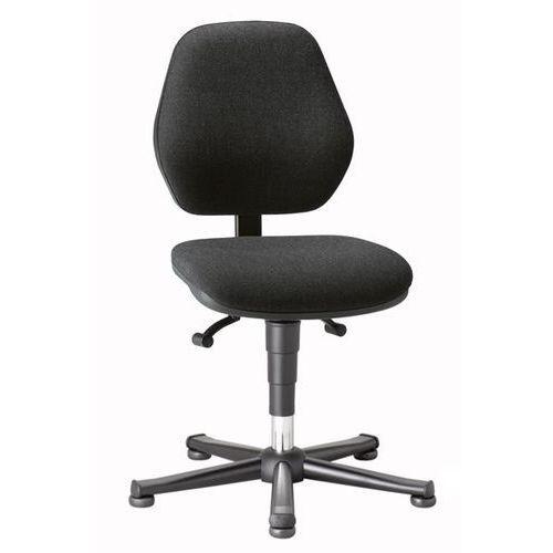 Bimos Krzesło do pracy, stały kontakt pleców z oparciem, na ślizgaczach, obicie z mate