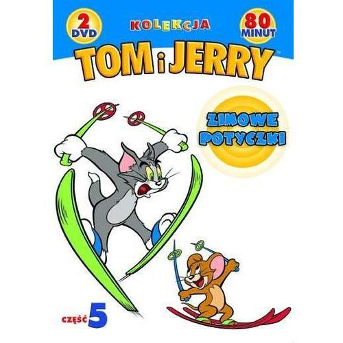 Tom i jerry: kolekcja cz.5 zimowe szaleństwa (2 dvd) marki Galapagos