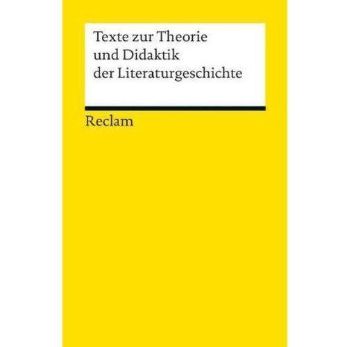 Texte zur Theorie und Didaktik der Liter (9783150189672)