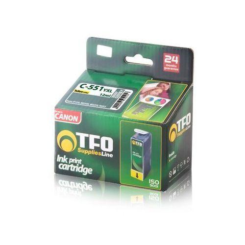 Telforceone Tusz tfo c-551yxl (cli551xl y) 12ml