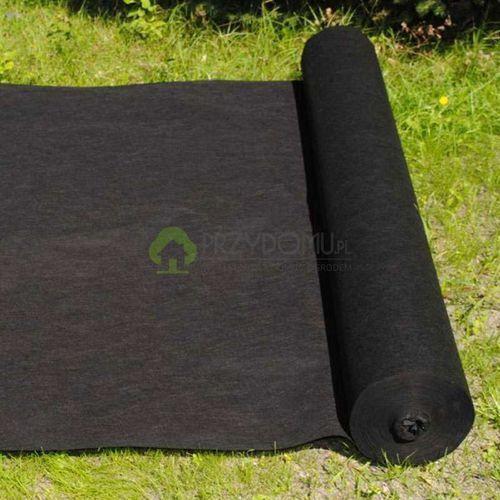 Agrowłóknina czarna 0,8x50m P-80 ściółkująca