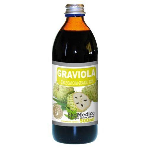 Ekamedica Graviola sok 100% z owoców (500 ml)