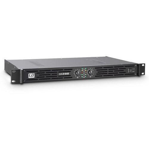 xs 700 końcówka mocy pa klasy d, 2 x 350 w, 4ohm marki Ld systems