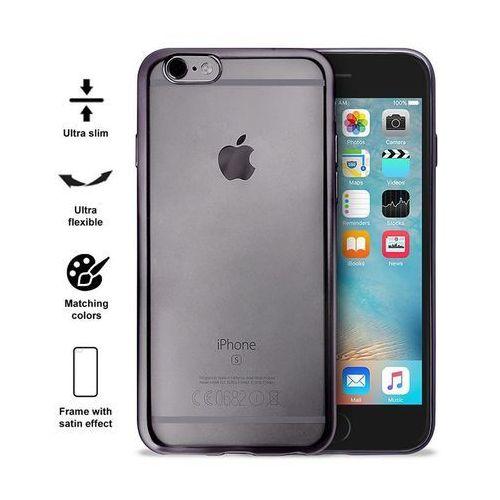 (EOL) Puro Satin Cover Etui Obudowa iPhone 6S / 6 (Space Gray) (8033830161438)