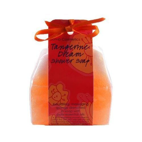 Bomb cosmetics - tangerine dream - shower soap - masująco-złuszczające mydło pod prysznic - mandarynkowe sny