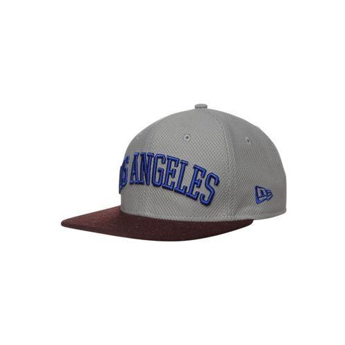 New Era 9FIFTY LOS ANGELES DODGERS Czapka z daszkiem gray/heather maroon/light royal - produkt dostępny w Zalando.pl
