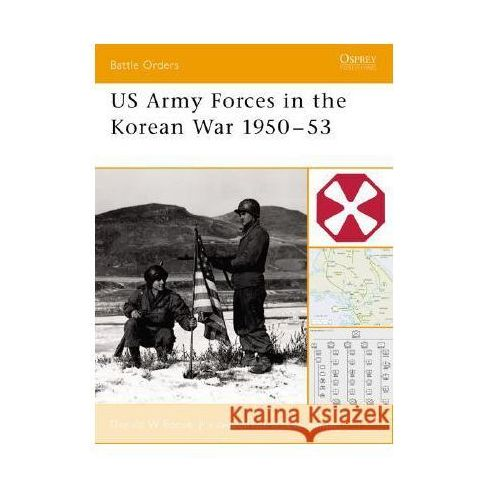 US Army in the Korean War 1950-53 (9781841766218)
