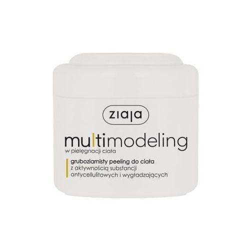 multimodeling gruboziarnisty peeling do ciała z aktywnością substancji antycellulitowych i wygładzających, 200ml marki Ziaja