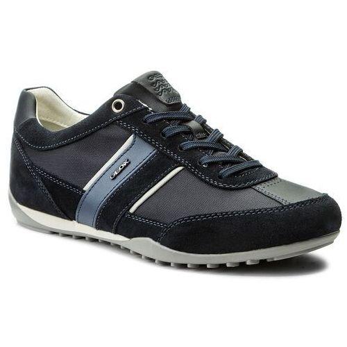 Sneakersy GEOX - U Wells C U52T5C 02211 C4021 Dk Navy, kolor niebieski