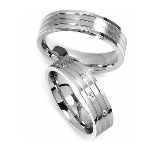 (Para obrączek ślubnych z stali nierdzewnej RRC2095) - produkt dostępny w Obrączki ślubne Altar