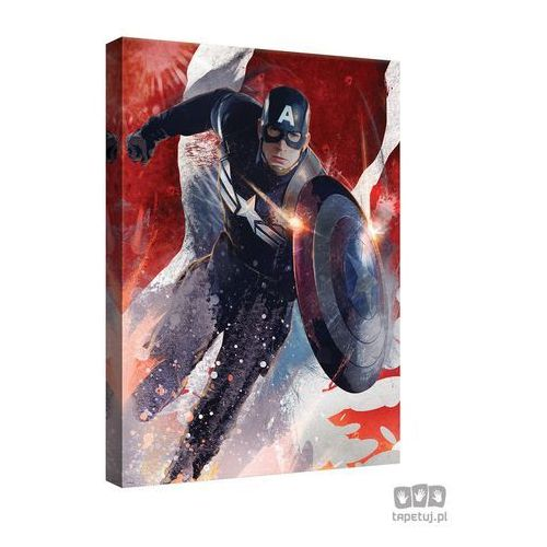 Obraz marvel capitan america: the winter soldier ppd341 marki Consalnet