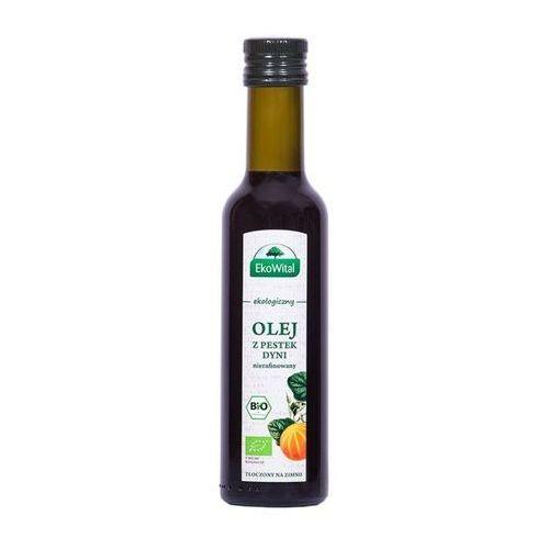 Olej z pestek dyni tłoczony na zimno BIO 250 ml EkoWital (5908249971622)