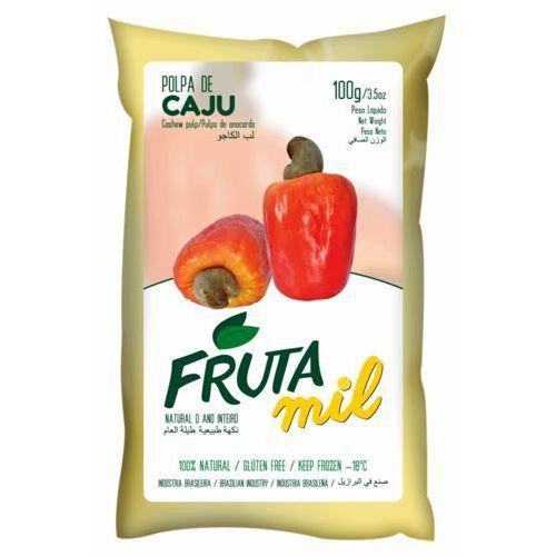 Nerkowiec caju naturalny miąższ (puree owocowe, sok z miąższem) bez cukru marki Frutamil comércio de frutas e sucos ltda