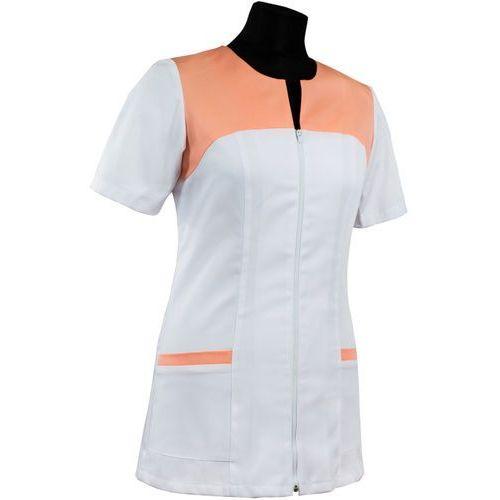 Bluza damska medyczna K023 - dwukolorowa