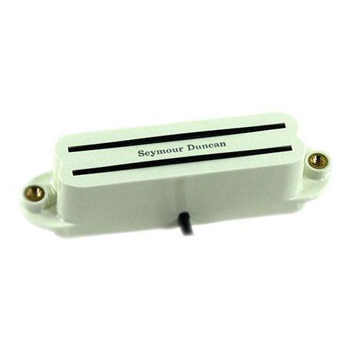 Seymour Duncan SCR 1B PCH Strat Cool Rails przetwornik do gitary elektrycznej do montażu przy mostku, kolor ′′pergamin′′