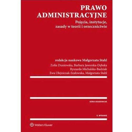 Prawo administracyjne - Wysyłka od 3,99 (2016)