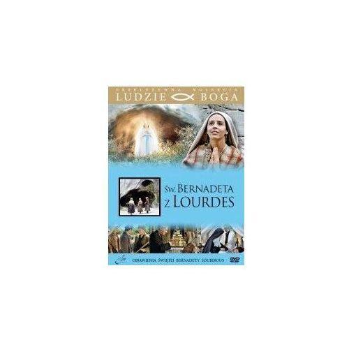 Święta bernadeta z lourdes + film dvd marki Praca zbiorowa