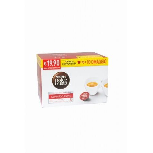 Nescafe Dolce Gusto Espresso Roma 80 kapsułek (8000300399936)