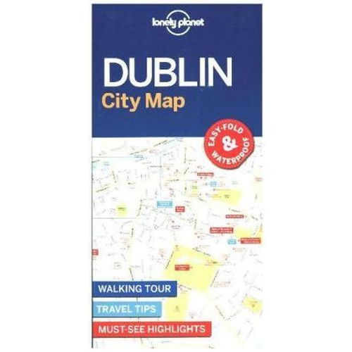 Lonely Planet Dublin City Map (9781786575081)