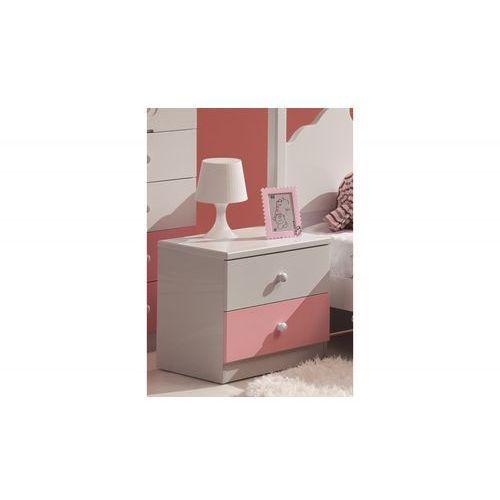 Szafka nocna Princess Pink - produkt dostępny w Kiddyfave.pl
