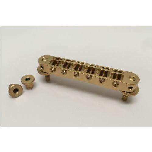 Tonepros t3bp-sg - tune-o-matic bridge, mostek do gitary, satynowy złoty
