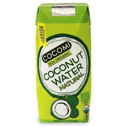 Cocomi (wody kokosowe, oleje kokosowe, śmietanki) Woda kokosowa naturalna bio 330 ml - cocomi