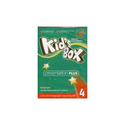 Kid's Box 4 Presentation Plus (Płyta DVD)