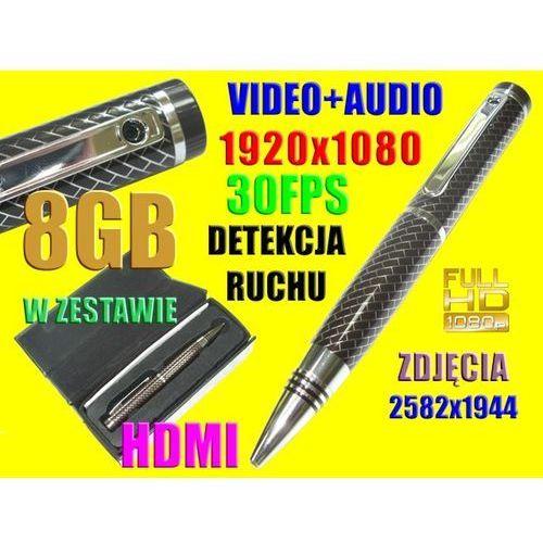 MINI UKRYTA KAMERA SZPIEGOWSKA DETEKCJA RUCHU +8GB (kamera monitoringowa)