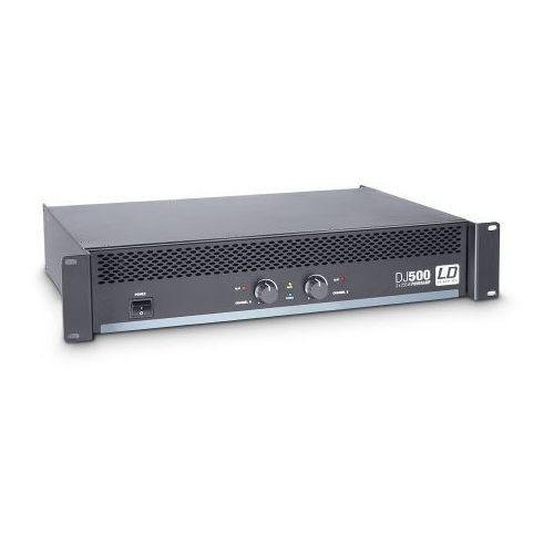 dj 500 końcówka mocy pa 2 x 250w, 4ohm marki Ld systems