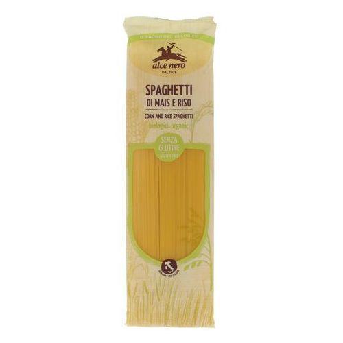 Makaron spaghetti (kukurydziano - ryżowy) bezglutenowy bio 250 g - alce nero marki Alce nero (włoskie produkty)