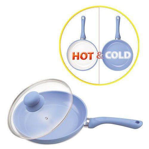 patelnia zmieniająca kolor powłoki pod wpływem temperatury mr-1224-28 marki Maestro