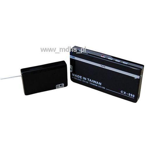 Profesjonalny zestaw podsłuchowy z funkcją nagrywania , podsłuch 400 MHz, CX-990