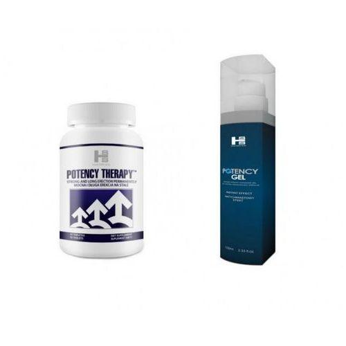 Mega Zestaw na Potencję Potency Therapy 60 Tabletek + Potency Gel 100ml