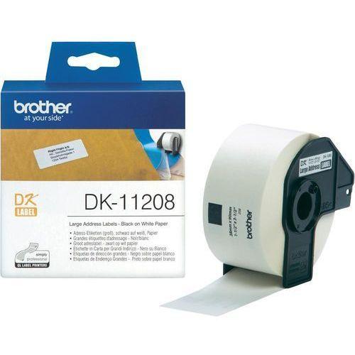 Brother Etyk.papierowe DK11208 (38x90mm)400 szt. (4977766628129)