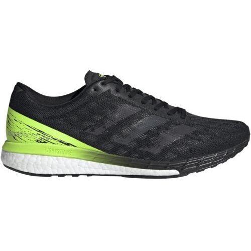 adidas Adizero Boston 9 Buty Mężczyźni, core black/core black UK 10 | EU 44 2/3 2020 Buty szosowe, kolor czarny