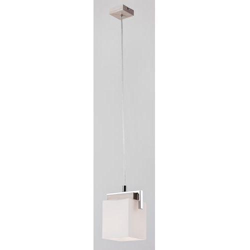 Lampa wisząca tros 368 zwis oprawa 1x60w e27 bielony dąb/mleczny marki Argon