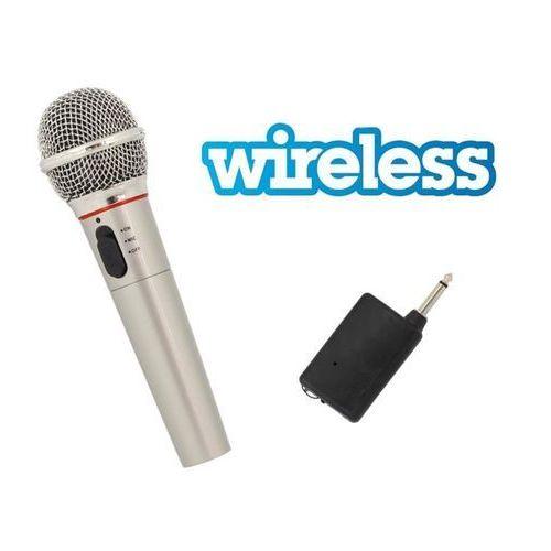 Mikrofon bezprzewodowy do śwpiewania, karaoke itp. marki Apte