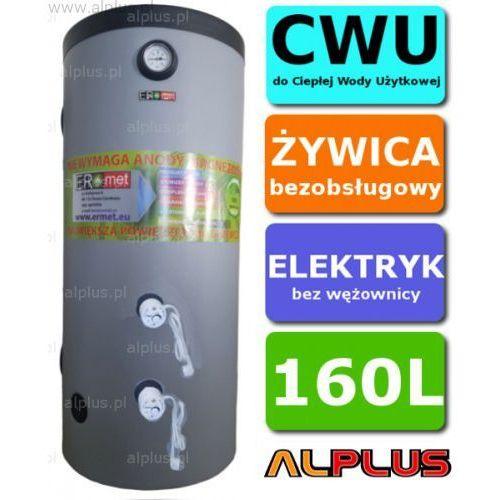 Ermet Elektryczny bojler 160l 4kw (2x2kw), 150 cm x 49 cm, ogrzewacz pionowy zasobnik wysyłka gratis