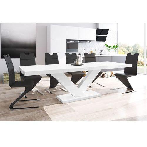 Stół rozkładany victoria biały super mat marki Hubertus design