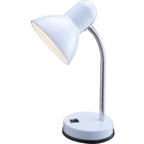 Basic lampka biurkowa biała - sprawdź w 5lampy