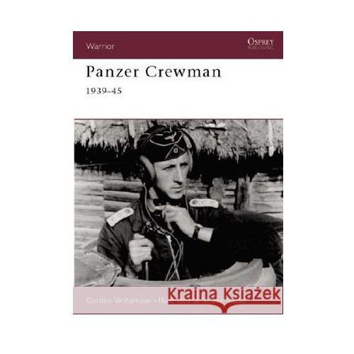 Panzer Crewman 1939-45 (W.#46), Osprey Publishing Ltd