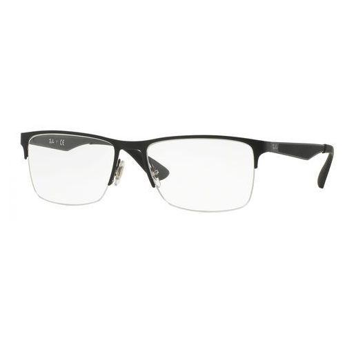 Ray-ban rx 6335 2503 okulary korekcyjne + darmowa dostawa i zwrot (8053672402087)
