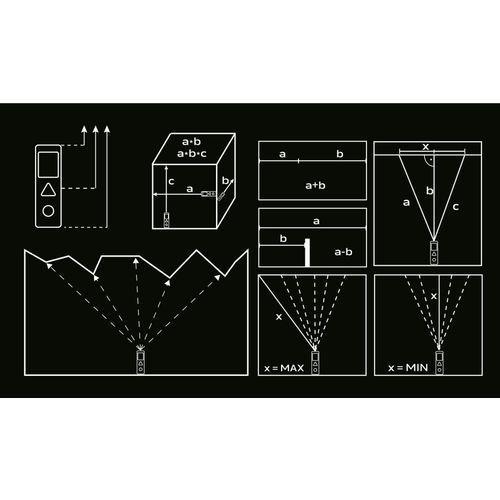 Neo Dalmierz laserowy 75-203