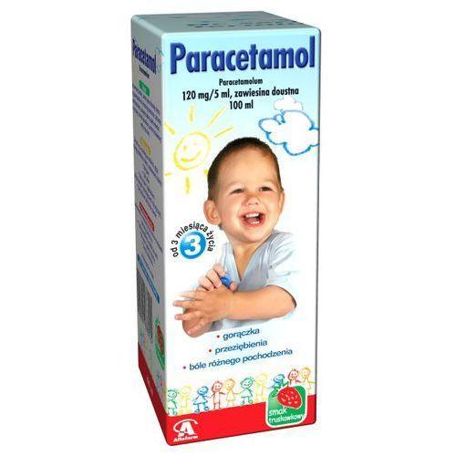 Paracetamol zaw.doust. 0,12 g/5ml 100 ml (lek Pozostałeleki i suplementy)